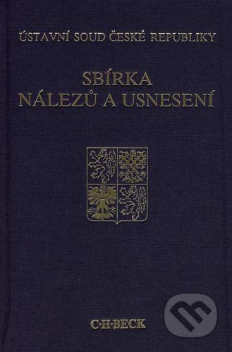 C. H. Beck Sbírka nálezů a usnesení 33 - cena od 731 Kč