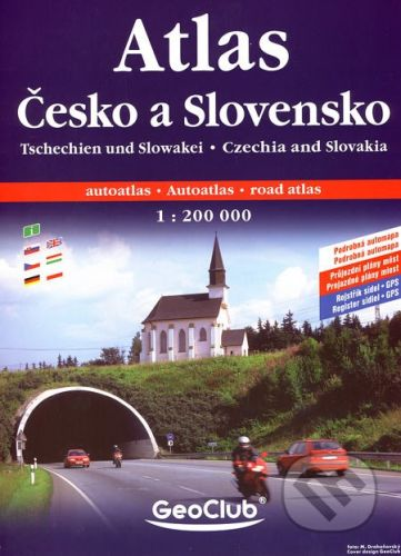 Česko + Slovensko atlas A4 1:200T spirála cena od 235 Kč