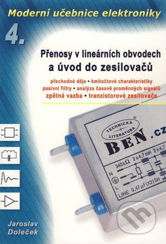 BEN - technická literatura Moderní učebnice elektroniky 4 - Jaroslav Doleček cena od 304 Kč