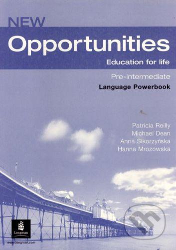 Longman New Opportunities - Pre-Intermediate - Language Powerbook - Patricia Reilly a kol. cena od 214 Kč