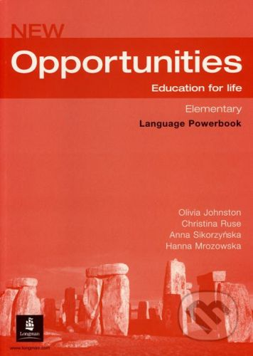 Oxford University Press New Opportunities - Elementary - Language Powerbook - Olivia Johnston a kol. cena od 206 Kč