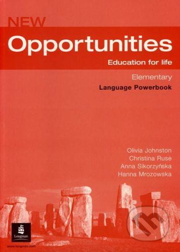 Oxford University Press New Opportunities - Elementary - Language Powerbook - Olivia Johnston a kol. cena od 214 Kč