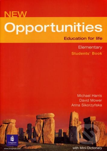 Oxford University Press New Opportunities - Elementary - Student´s Book - Michael Harris, David Mower, Anna Sikorzyńska cena od 408 Kč