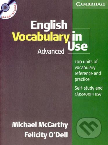 Cambridge University Press English Vocabulary in Use - Advanced (+CD) - Michael McCarthy, Felicity O´Dell cena od 727 Kč