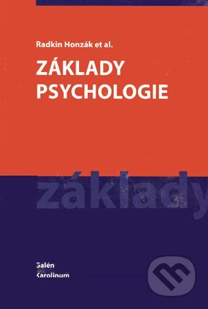 Radkin Honzák: Základy psychologie - Radkin Honzák cena od 124 Kč
