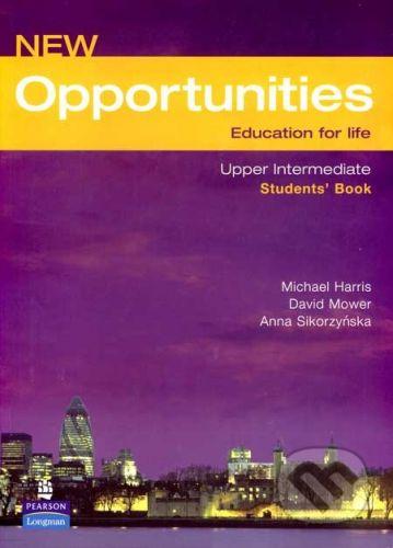Longman New Opportunities - Upper Intermediate - Students´Book - Michael Harris, David Mower, Anna Sikorzyńska cena od 408 Kč
