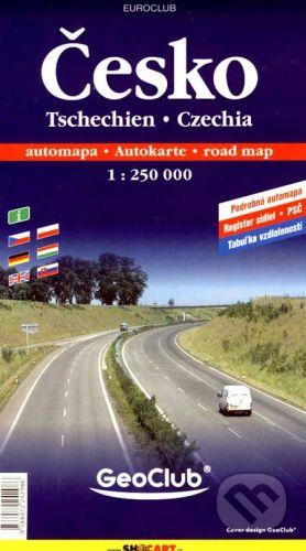 Česko/automapa 1:250 000 cena od 130 Kč