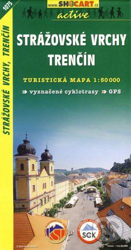 SHOCart Strážovské vrchy, Trenčín 1:50 000 - cena od 79 Kč
