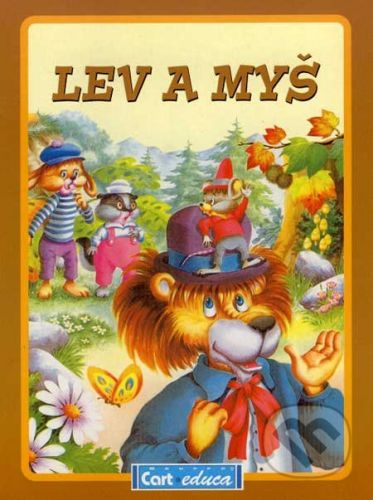 Gruppo Carteduca Lev a myš - cena od 21 Kč