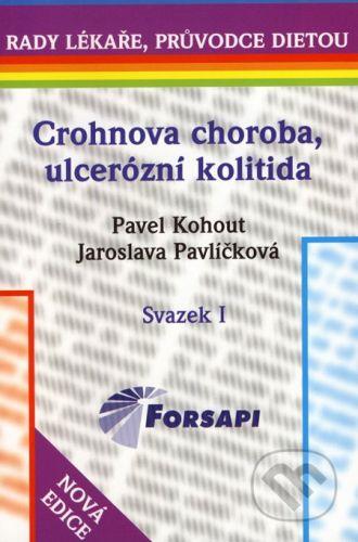 Kohout P. + Pavlíčková J.: Crohnova choroba, ulcerózní kolitida cena od 124 Kč