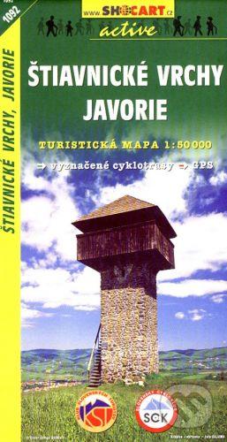 SHOCart Štiavnické vrchy, Javorie 1:50 000 - cena od 86 Kč