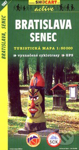 SHOCart Bratislava, Senec 1:50 000 - cena od 86 Kč