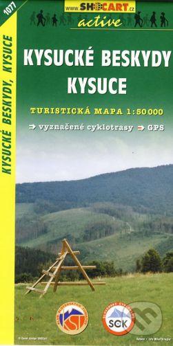 SHOCart Kysucké Beskydy, Kysuce 1:50 000 - cena od 86 Kč