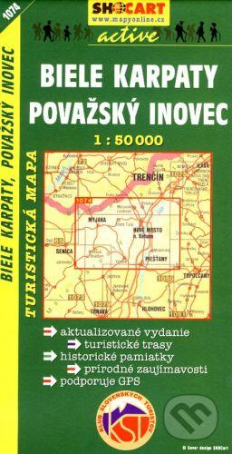 SHOCart Biele Karpaty, Považský Inovec 1:50 000 - cena od 84 Kč