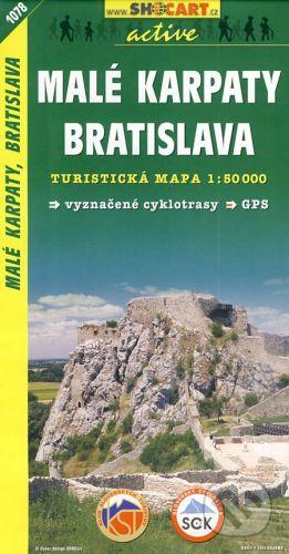 SHOCart Malé Karpaty, Bratislava 1:50 000 - cena od 79 Kč