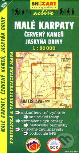 SHOCart Malé Karpaty, Červený Kameň, jaskyňa Driny 1:50 000 - cena od 86 Kč