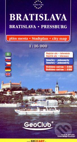 SHOCart Bratislava 1:16 000 - cena od 77 Kč