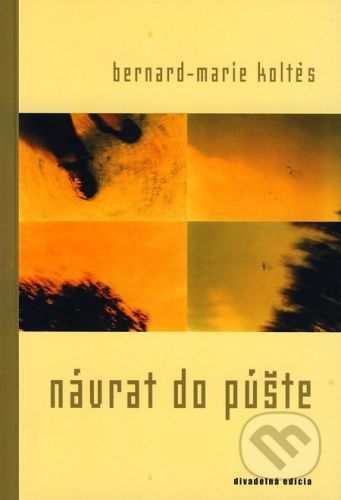 Drewo a srd Návrat do púšte - Bernard-Marie Kolt cena od 122 Kč