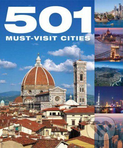 Bounty Books 501 Must Visit Cities - cena od 299 Kč