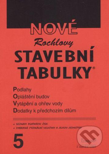 INCON-F Nové Rochlovy stavební tabulky 5 - cena od 390 Kč
