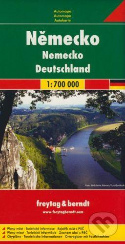 freytag&berndt Nemecko 1:700 000 - cena od 160 Kč
