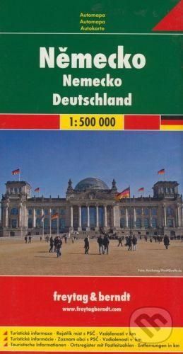 freytag&berndt Nemecko 1:500 000 - cena od 160 Kč
