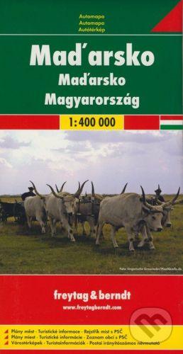 Maďarsko/magyarország 1:400 000 cena od 160 Kč
