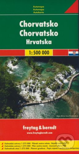 freytag&berndt Chorvatsko 1:500 000 - cena od 178 Kč