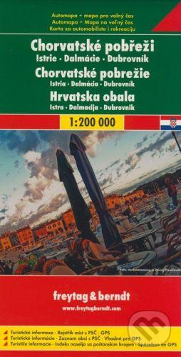 freytag&berndt Chorvatské pobrežie 1:200 000 - cena od 190 Kč