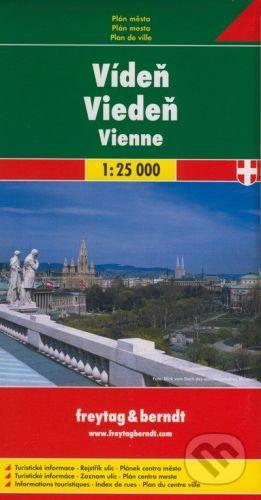 freytag&berndt Viedeň 1:25 000 - cena od 146 Kč