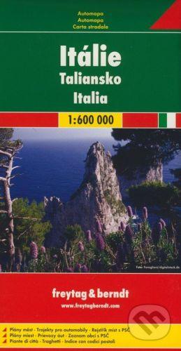 freytag&berndt Taliansko 1:600 000 - cena od 160 Kč