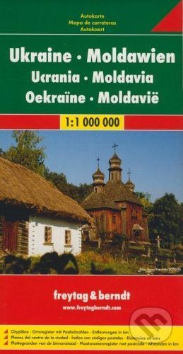 freytag&berndt Ukraine - Moldawien 1:1 000 000 - cena od 190 Kč