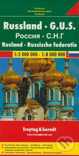 freytag&berndt Rusko - G.U.S./1:2 000 000 - 1:8 000 000 - cena od 190 Kč
