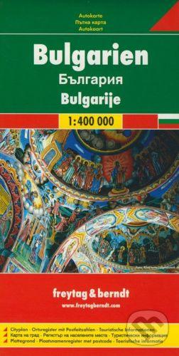 freytag&berndt Bulgarien 1:400 000 - cena od 155 Kč