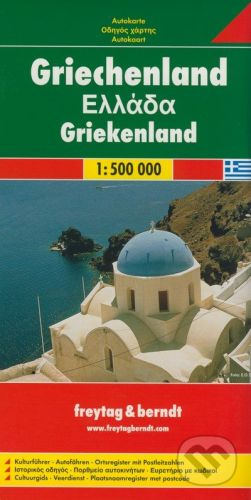 freytag&berndt Grécko - Greece - Griekenland 1:500 000 - cena od 190 Kč