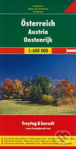 freytag&berndt Österreich 1:600 000 - cena od 172 Kč