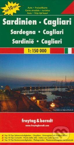 freytag&berndt Sardinien - Cagliari 1:150 000 - cena od 190 Kč