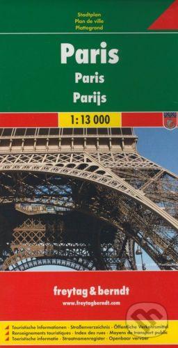 freytag&berndt Paris 1:13 000 - cena od 155 Kč