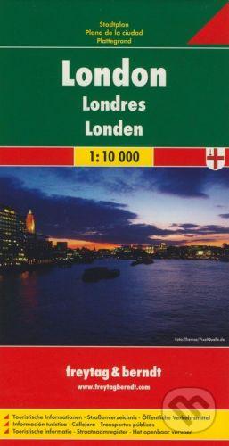 freytag&berndt London 1:10 000 - cena od 152 Kč