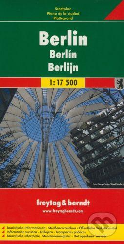 freytag&berndt Berlin 1:17 500 - cena od 152 Kč