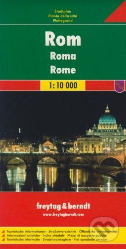 freytag&berndt Rom/Roma/Rome 1:10 000 - cena od 155 Kč