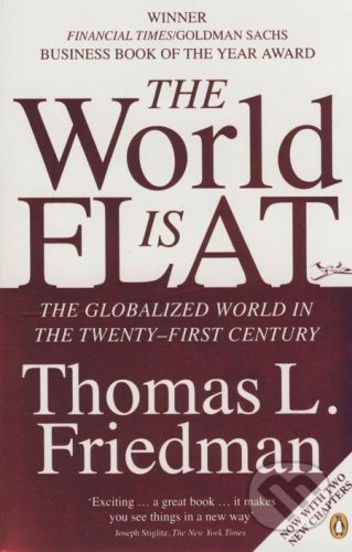 Penguin Books The World is Flat - Thomas L. Friedman cena od 228 Kč