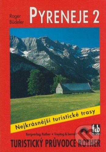 freytag&berndt Pyreneje 2 - Roger Büdeler cena od 159 Kč