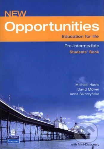 Longman New Opportunities - Pre-Intermediate - Student´s Book - M. Harris cena od 408 Kč