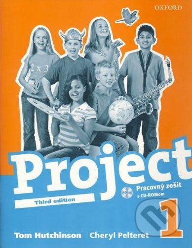 Oxford University Press Project 1 - Pracovný zošit + CD-ROM - Tom Hutchinson cena od 230 Kč