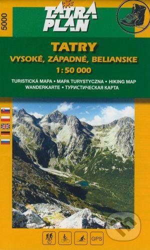 vydavateľ neuvedený Tatry - Vysoké, Západné, Belianske - cena od 105 Kč