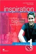 MacMillan Inspiration 1 - Judy Garton-Sprenger, Philip Prowse cena od 316 Kč