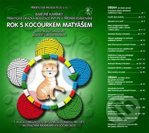 Přikrylová Milada Plus Rok s kocourkem Matyášem - Marie Čermáková cena od 653 Kč