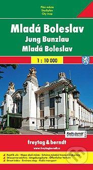 freytag&berndt Mladá Boleslav 1:10 000 - cena od 60 Kč