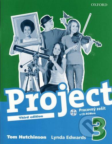 Oxford University Press Project 3 - Pracovný zošit s CD-ROMom - Tom Hutchinson, Lynda Edwards cena od 179 Kč
